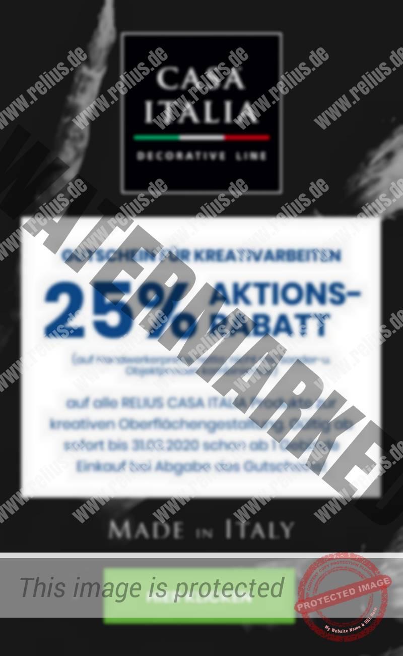 Casa Italia Rabattaktion